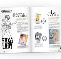 Proyecto editorial. Un proyecto de Diseño, Ilustración y UI / UX de Juan Vega - 28-06-2012