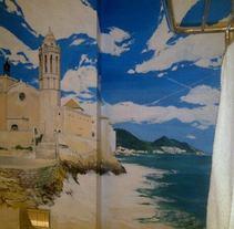 mural sitges-aiguadolç. A Design, Illustration&Installations project by enrique granados de foronda         - 30.06.2012