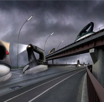 Fotomontaje Carrera de planchas. Un proyecto de Diseño de Rodrigo Dobñia         - 03.07.2012