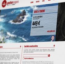 Website Jostur Viajes. Un proyecto de Diseño, Publicidad, Desarrollo de software y UI / UX de Diseño y Comunicación ALPUNTODESAL         - 04.07.2012