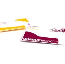 Imagen corporativa QueBuenVino y Artesania Cervecera. A Design project by Anita Aísa Pardo - 10-07-2012