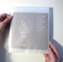 """""""TÉ CON TÉ"""". Un proyecto de Diseño y Fotografía de Tanya VONDEE - 11-07-2012"""