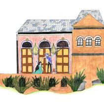 Barba azul. Um projeto de Ilustração de Maite Caballero Arrieta         - 14.07.2012