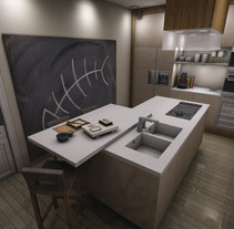 Interior Design. A Design, Illustration, Advertising, Installations, and 3D project by Marino Gutiérrez del Cerro         - 16.07.2012