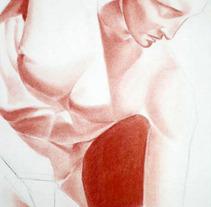 Dibujos estatua. A Fine Art project by Elena Martín Beci - 19-07-2012