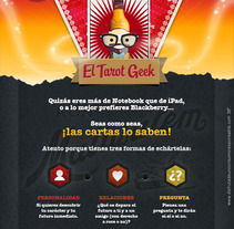 Tarot Geek. A Advertising, and Software Development project by Javier Fernández Molina - 15-08-2012