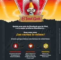 Tarot Geek. Un proyecto de Desarrollo de software y Publicidad de Javier Fernández Molina - Miércoles, 15 de agosto de 2012 10:55:06 +0200