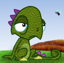 Leon the cameleon. A Illustration project by Laia Capdevila - 29-08-2012
