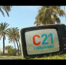 Cortinillas de verano Canal21. A  project by laura garcía de la puente - Sep 16 2012 07:23 PM