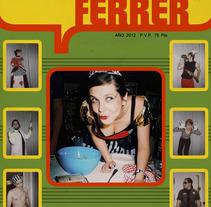 Álbum cromos. Un proyecto de Diseño e Ilustración de M.A. Serralvo - Viernes, 21 de septiembre de 2012 13:45:07 +0200