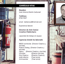 Diseño Gráfico. A Design, Illustration, and Advertising project by Martín Carbonell         - 22.09.2012