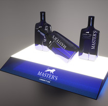 piezas para Master´s Gin. Un proyecto de Diseño, Publicidad, Instalaciones y 3D de Javier García García de Iturrospe - 24-09-2012