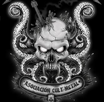 Morrazica Cult Metal. A Illustration project by Ivan Pastoriza - 25-09-2012
