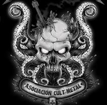 Morrazica Cult Metal. Um projeto de Ilustração de Ivan Pastoriza - 25-09-2012