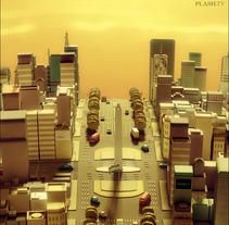 Poster CH-14. Um projeto de Design, Ilustração e 3D de Gabriel Quintana         - 02.10.2012