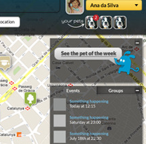 Whoop! Social Network (Prototipo). A UI / UX, and Web Design project by Marcos Camacho García - 07-10-2012