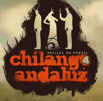 Logotipo para el recital de poesía Chilango Andaluz. A Design project by Daniel Vergara         - 07.10.2012