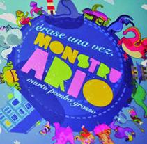 Monstruario. Um projeto de Ilustração de Marta Pombo Grosso         - 08.10.2012