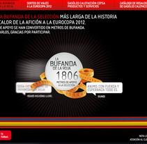 La bufanda de la Roja. Un proyecto de Desarrollo de software de Ana Pinedo García         - 09.10.2012
