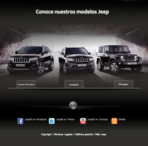 Jeep Gama España Facebook Page. A Design, and Advertising project by Jessica Alexandra Bustamante Fonseca - 11-10-2012