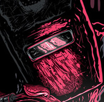 The bloody Welder. A Illustration project by hillmarc  - Oct 15 2012 11:14 PM