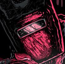 The bloody Welder. Un proyecto de Ilustración de hillmarc  - Lunes, 15 de octubre de 2012 23:14:34 +0200