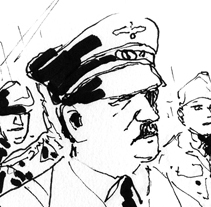 World War II Book. A Illustration project by Nicolás Castell         - 22.10.2012