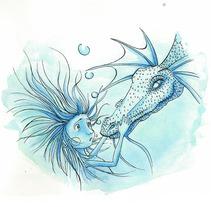 Deep Ocean Dream 05. A Design, Illustration, Advertising, Music, Audio, Motion Graphics, Installations, Software Development, Photograph, Film, Video, TV, UI / UX, 3D&IT project by Maria Jesus Garcia Muñoz         - 23.10.2012