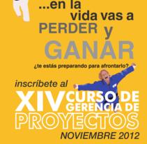 Afiche Promocional XIV CGP segunda versión. A Advertising project by Adolfo  Ccala Quispe - 30-10-2012