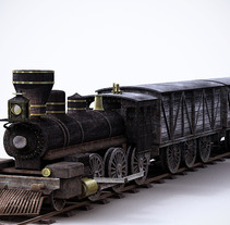 Train Modeling. A Design, and 3D project by Alejandro Creo - 15-11-2012