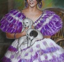 Retrato de Maria. Un proyecto de Ilustración y UI / UX de Jose Maria Gallego Guillen         - 21.11.2012