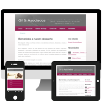 Website Abogados - Gil & Asociados. A Design, Illustration, Advertising, and Software Development project by Alberto Gil González         - 29.11.2012