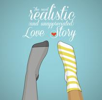 Unmatched socks. A Design&Illustration project by Andrea Esteban Martín         - 01.12.2012