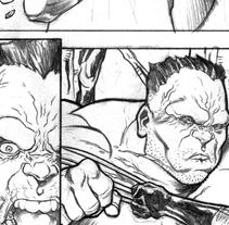 Pruebas para Marvel. Un proyecto de Ilustración de Marco Antonio Paraja Corbato         - 09.12.2012