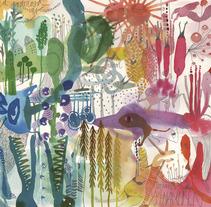 My Garden of Earthly Delights. Um projeto de Design, Ilustração e Publicidade de Laia Jou         - 11.12.2012