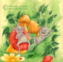 Infantil. Um projeto de Ilustração de Veronica  Casas - 19-12-2012