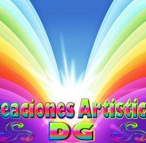 Creaciones Artisticas DG. Un proyecto de Diseño, Ilustración, Publicidad, Música, Audio, Motion Graphics, Instalaciones, Desarrollo de software, Fotografía, Cine, vídeo, televisión, UI / UX, 3D e Informática de David García García - 28-12-2012