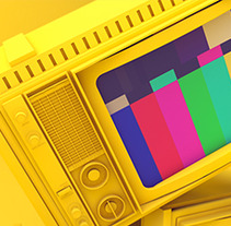 Raining TV's (Spot). A Design, Motion Graphics, and 3D project by Marc Urtasun         - 22.01.2013