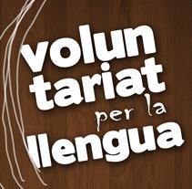 Voluntariat per la llengua. Un proyecto de Diseño, Ilustración y Publicidad de Eva  G. Navarro - 23-01-2013