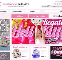 Tienda Oficial Hello Kitty. Un proyecto de Diseño de La Teva Web Diseño Web  - Martes, 05 de febrero de 2013 12:46:33 +0100