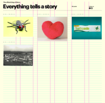Everything tells a Story. A Advertising, Photograph, Film, Video, and TV project by Pablo Gentile         - 11.02.2013
