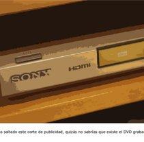DVD anti-anuncios. A Advertising project by Elena Martín Sánchez         - 13.02.2013