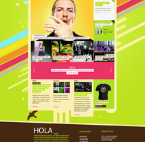 WEB KEBAB MAGAZINE. A Design project by Ricardo Sanchez - 14-02-2013