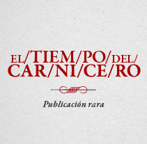 El Tiempo del Carnicero. A Design, Illustration, Photograph, and Advertising project by Maria Bravo - Feb 17 2013 10:03 PM