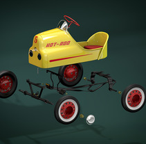Pedal. A Design, Illustration, Advertising, and 3D project by Curro  Astorza - 03-03-2013