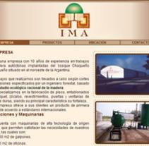 Portal Maderera IMA. A Design, Software Development&IT project by Ana Sisnero y Silvina Herrera - 07-03-2013