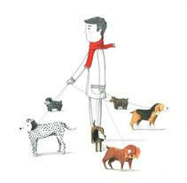 De paseo . Un proyecto de Ilustración de vanessa  santos - Jueves, 14 de marzo de 2013 14:47:45 +0100