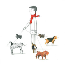 De paseo . A Illustration project by vanessa  santos - Mar 14 2013 02:47 PM