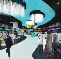 tienda aeropuerto de Mahón. A Design, Installations, Photograph, UI / UX, 3D&IT project by Daniel Rodríguez - 15-03-2013