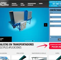 Diseño y maquetación web. Um projeto de Design e UI / UX de Haru Maruyama Carrasco         - 18.03.2013